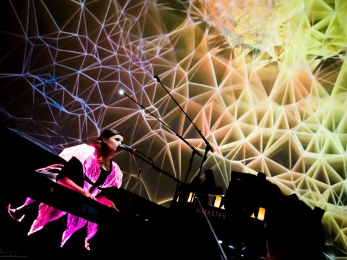 """Synesthesia Suite: Constellations"" at the Museum of Science, Boston"
